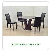 CROWN BELLA DINING SET
